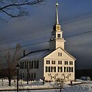 The Second Rindge Meeting House Rindge, NH by Rebecca Bryson