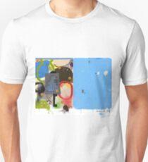 Abstract talk 003 Unisex T-Shirt