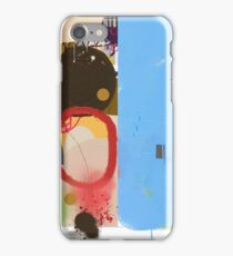 Abstract talk 003 iPhone Case/Skin