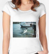 Newborn Love.... Women's Fitted Scoop T-Shirt