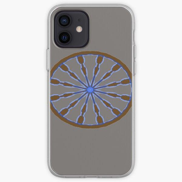 wagon wheel iPhone Soft Case
