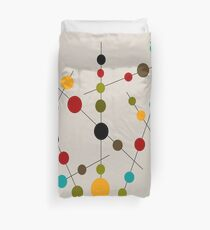 Sticks and Bubbles Duvet Cover