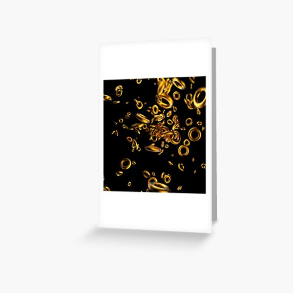 Brass Rings Greeting Card