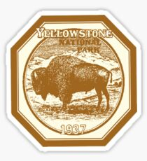 Yellow Stone National Park Sticker