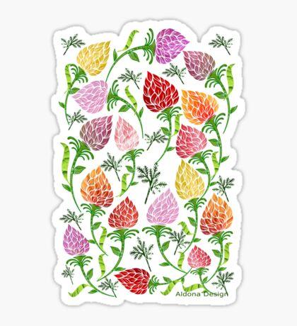 Floral pattern [528 Views] Sticker