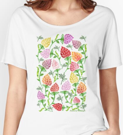 Floral pattern [492 Views] Women's Relaxed Fit T-Shirt