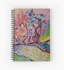 Dreamy Garden Spiral Notebook