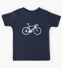 Bike White (Big) Kids Tee