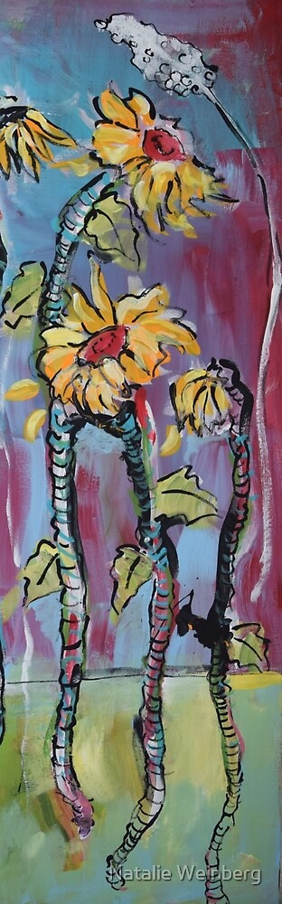 Dreamy Sunflowers by Natalie Weinberg
