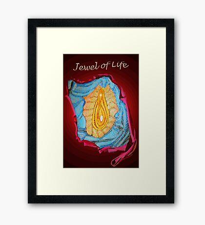 Jewel of Life * Framed Print