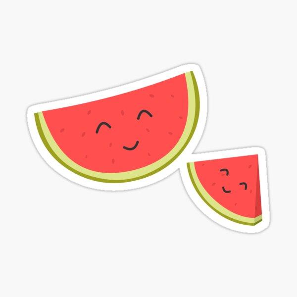 Happy Watermelon Sticker