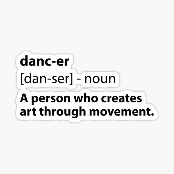 Dancer Definition Sticker
