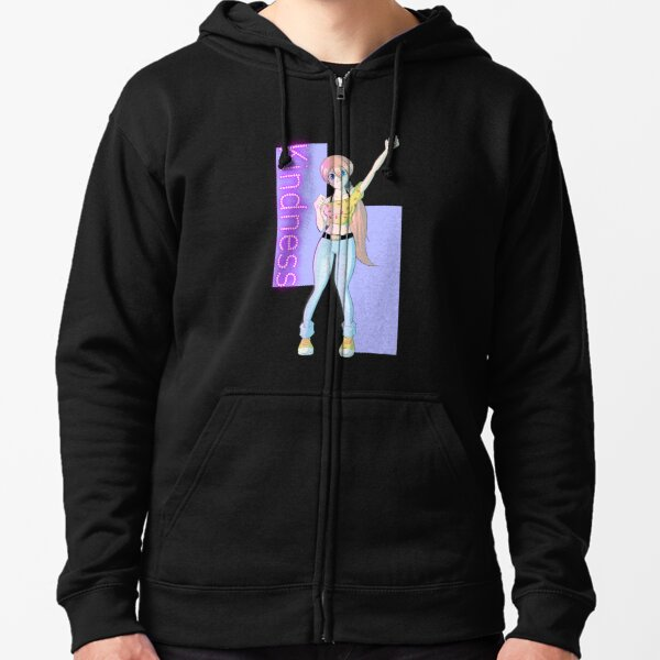 Kindness of the Heavenly Virtues  Zipped Hoodie