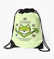 V.A. Maintenance Division Green Drawstring Bag
