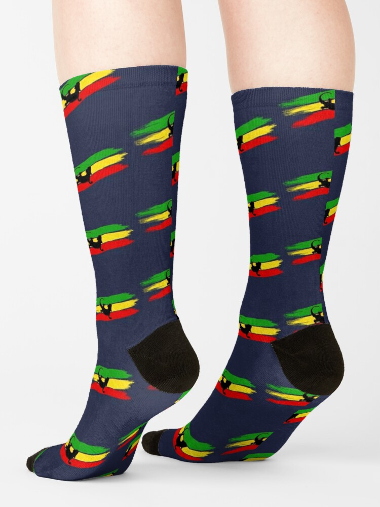 Alternate view of Rastabeardian Socks