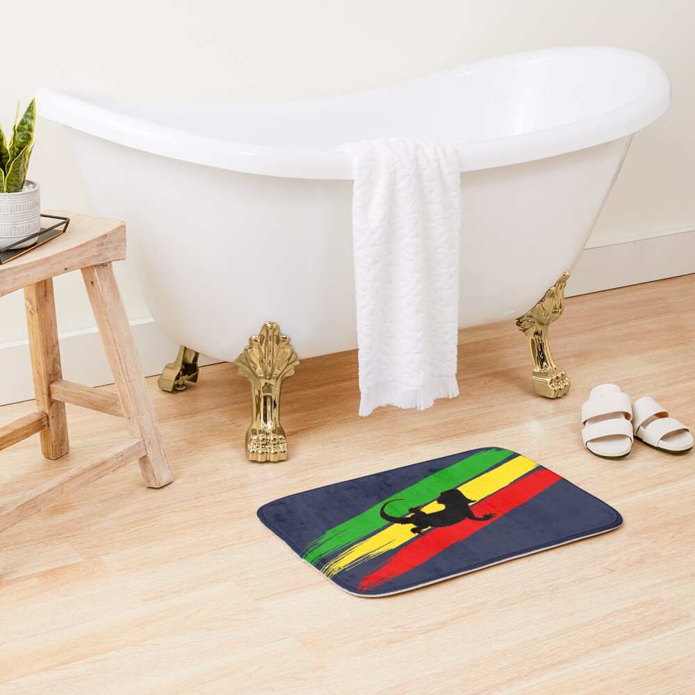Rastabeardian Bath Mat