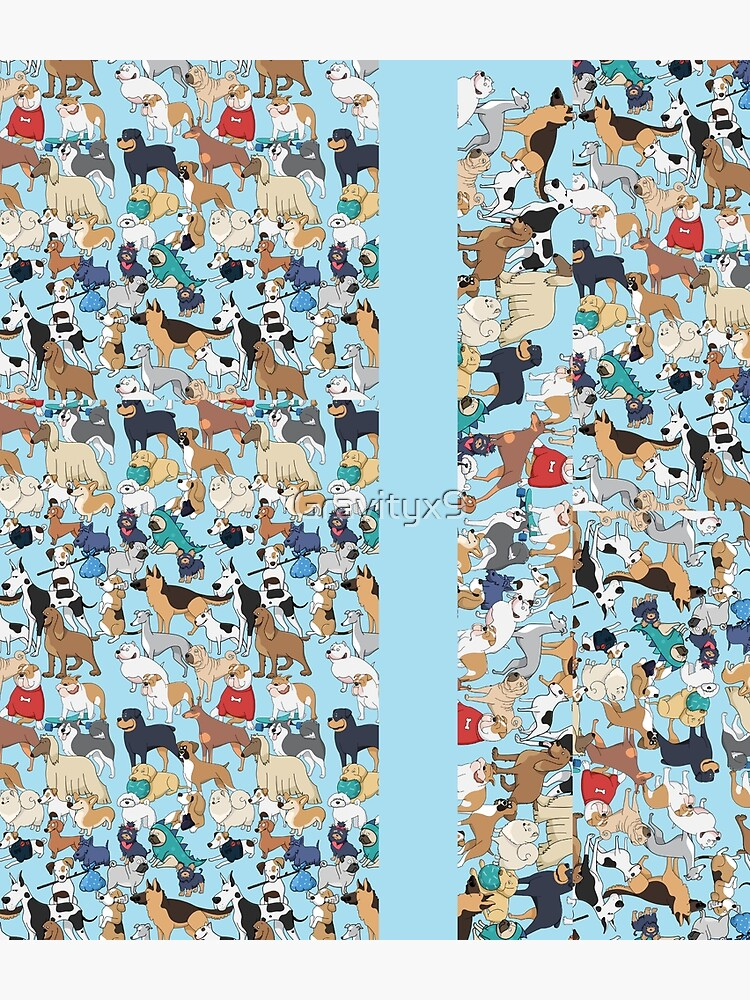 Dogs of the World by Gravityx9