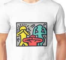 Keith Haring Colors Unisex T-Shirt