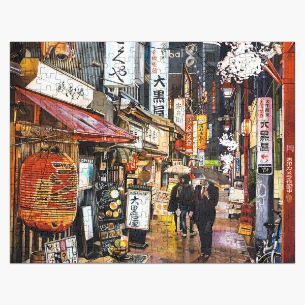 Tokyo sous la pluie Puzzle