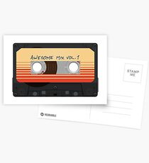 Awesome Mix Vol. 1 Postcards