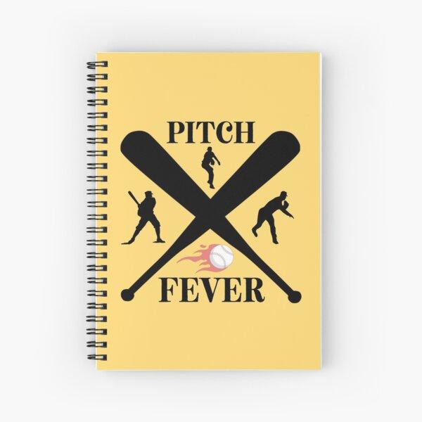 Pitch Fever Spiral Notebook
