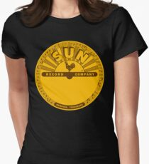 The Vinyl Of Sun Women's Fitted T-Shirt