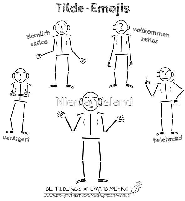 Tilde-Emojis von Niemandsland