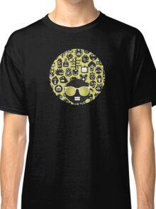 Robots faces green Classic T-Shirt