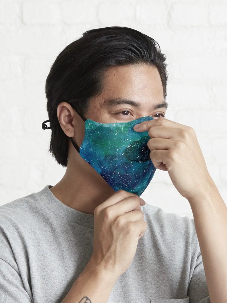 Alternate view of Emerald Galaxy Mask