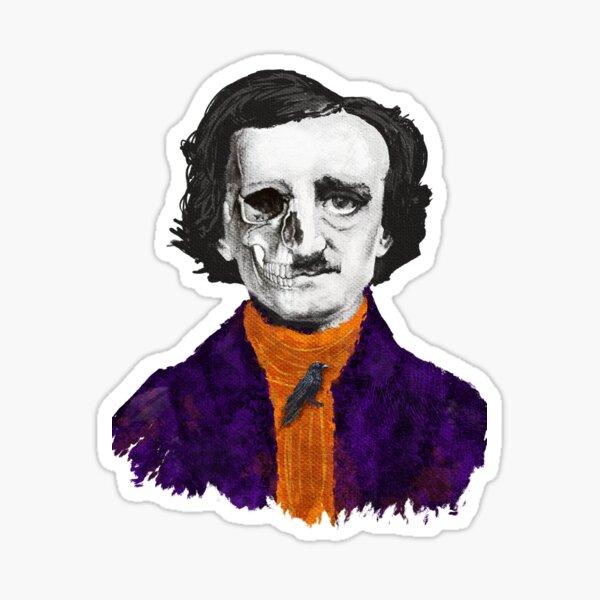 Poe's Halloween  Sticker