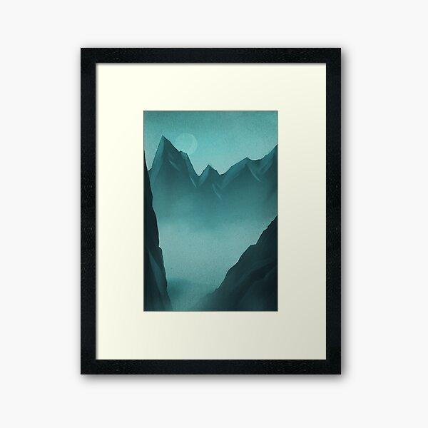 Mountain Impression encadrée