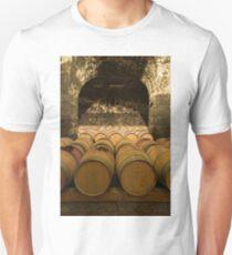 Oak Wine Barrels in Cellar Unisex T-Shirt