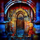 Doorway to Rosslyn Chapel by Dave Harnetty