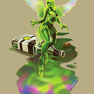 Absynthe - 'The Green Fairy' by AdamNichols