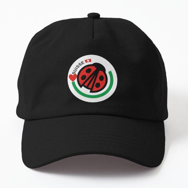 Swiss Lady Bug Dad Hat
