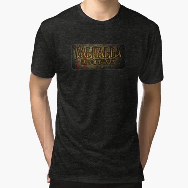 Valhalla: Halls of the Slain Tri-blend T-Shirt