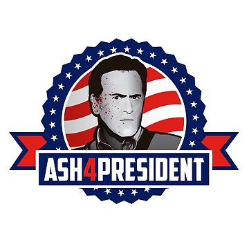 Ash 4 President by ikadoart