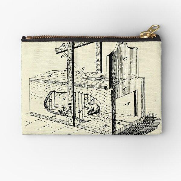Cage Trap-1870 Zipper Pouch