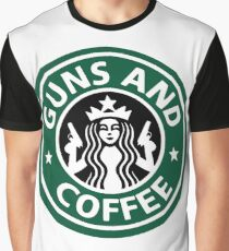 guns and coffee RC Graphic T-Shirt