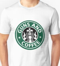 guns and coffee RC Unisex T-Shirt