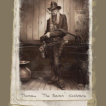 Thomas 'The Baron' Cochrane by AdamNichols