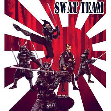 Samurai SWAT Team by AdamNichols