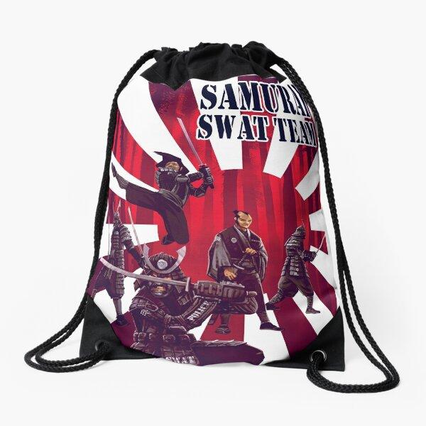 Samurai SWAT Team Drawstring Bag
