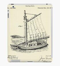 Reefing Sails-1880 iPad Case/Skin