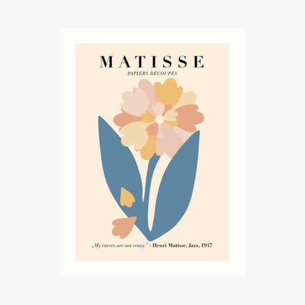 Blumen Matisse Poster Kunstdruck