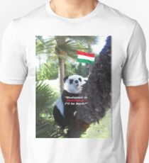 Special PANDA Souvenir directly from Budapest, Hungary T-Shirt