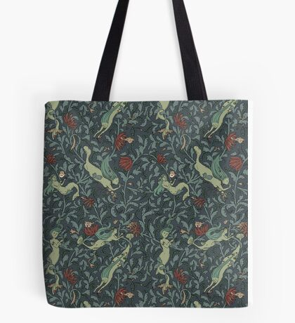 Deep diving Tote Bag