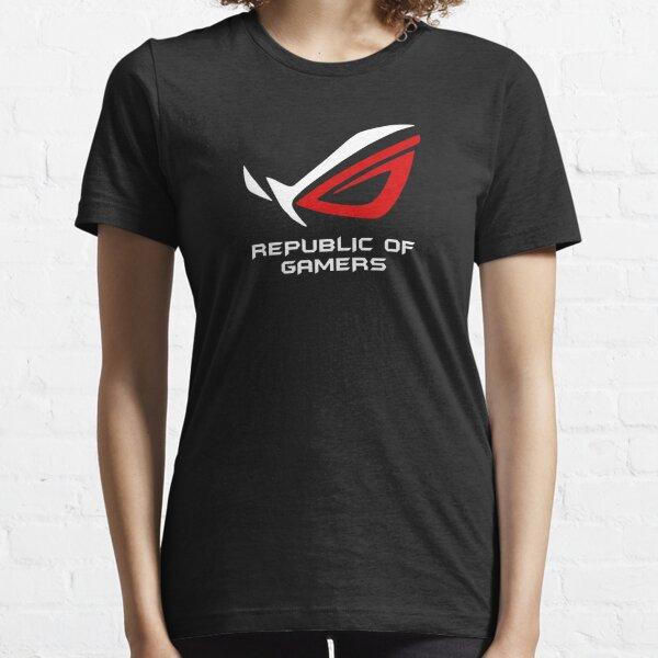 Bestseller - Asus ROG Republic Of Gamers Merchandise Essential T-Shirt