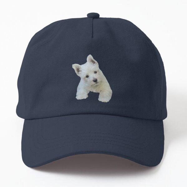 West Highland White Terrier Puppy portrait 3 Dad Hat