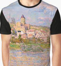 1879-Claude Monet-Vetheuil-60x81 Graphic T-Shirt